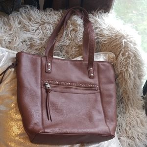 The SAK gorgeous soft leather tote bag